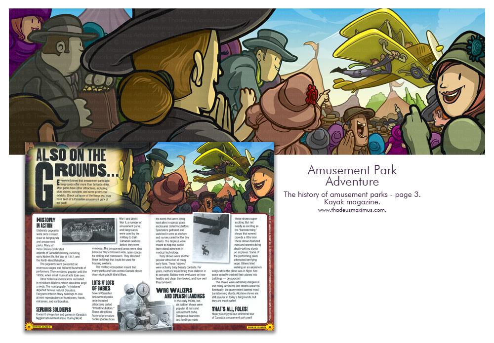 Kayak Magazine - History Of Theme Parks - 3