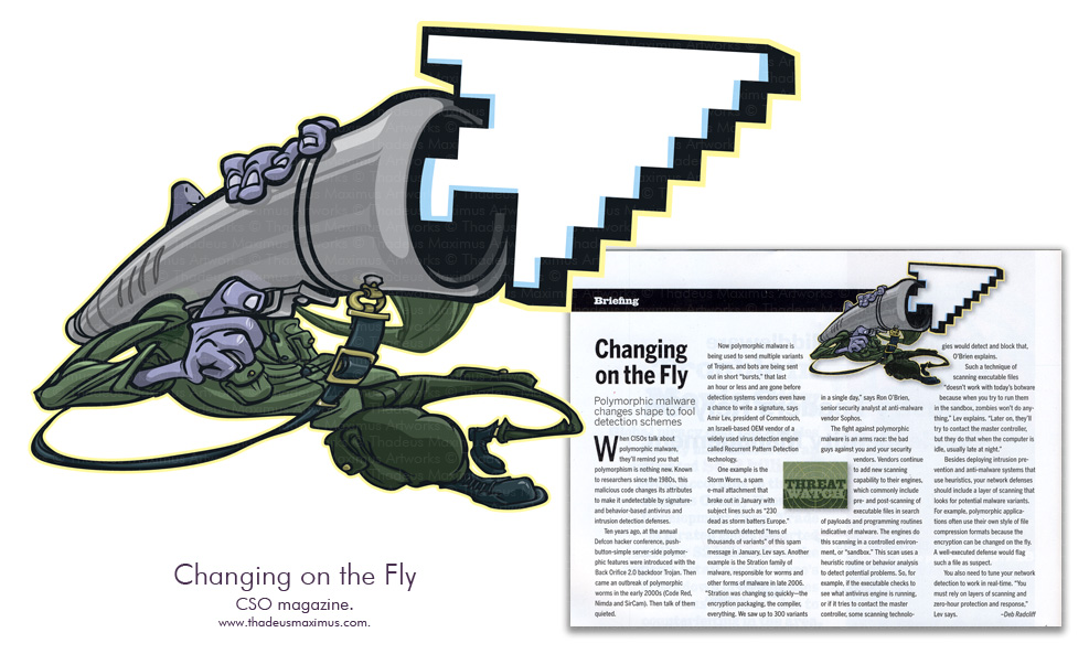 CSO Magazine - Changing on the Fly