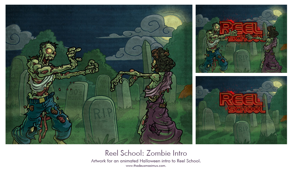 Reel School: Zombie Intro