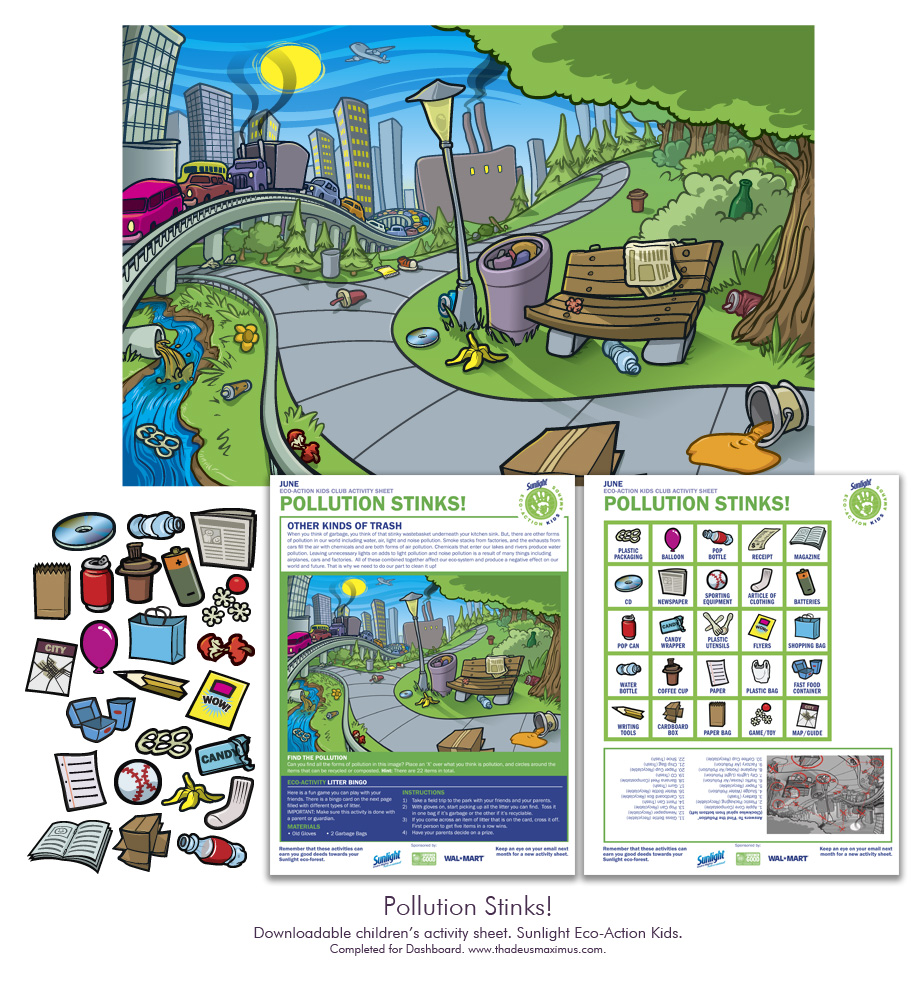 Sunlight - Eco-Action Kids: Pollution Stinks!