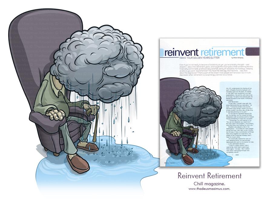 Chill Magazine - Reinventing Retirement