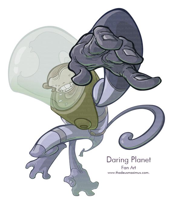 Daring Planet - Fan Art