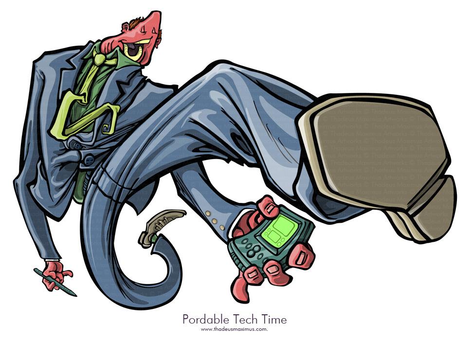 Portable Tech Time