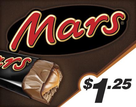 Vend Men Product Sample - Mars