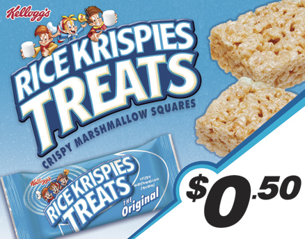 Vend Men Product Sample - Rice Krispies Treats