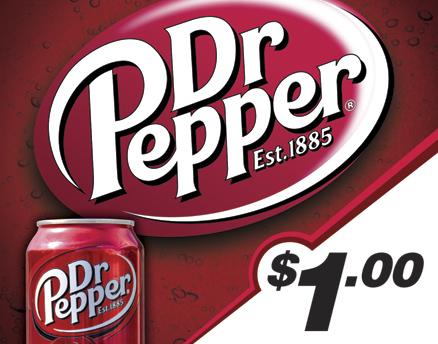 Vend Men Product Sample - Dr Pepper