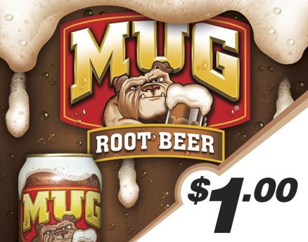 Vend Men Product Sample - Mug Root Beer