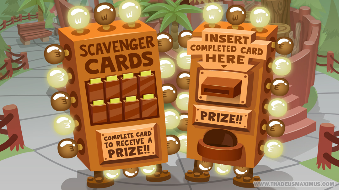 The GreatZoo Escape 2: Scavenger Card - Vending Machine