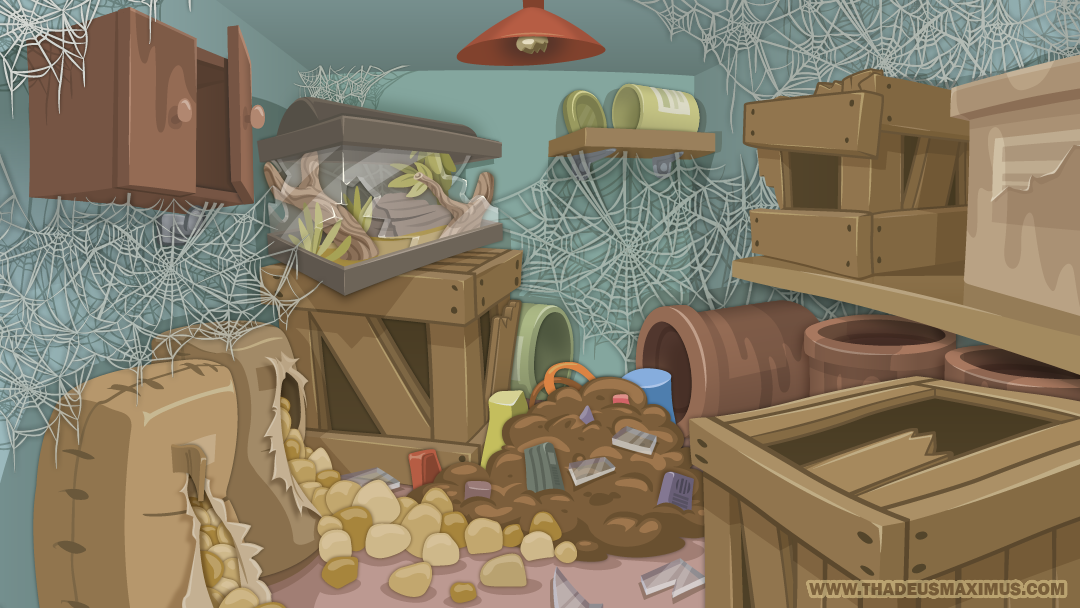 Zoo Clean Up: Food Room - Background
