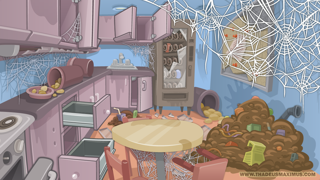 Zoo Clean Up: Kitchen - Background
