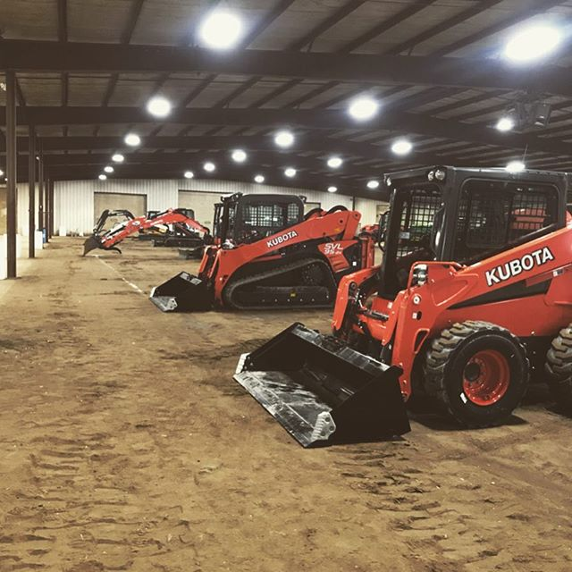 Thanks @kubotausa for choosing Gordyville for your training day today! Each day brings a new & exciting adventure out here! #kubota #gordyville #wedoitall