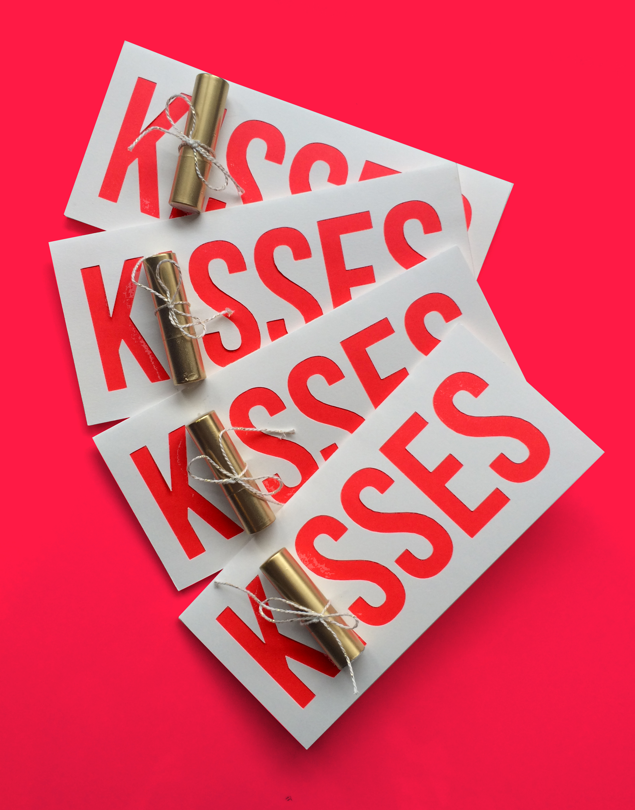DIY Valentine's Day Neon Pop-up Card | Sugar & Gold