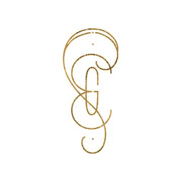Sugar & Gold Monogram | Branding by Sugar & Gold