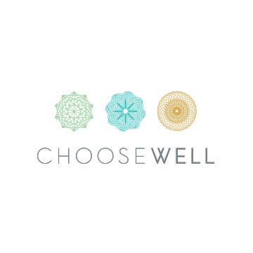 ChooseWell Logo | Branding by Sugar & Gold