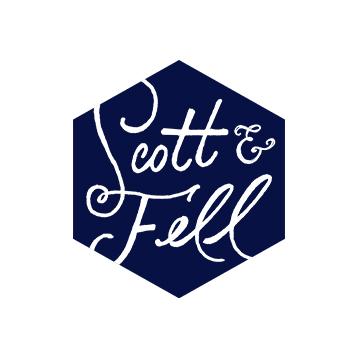 Scott & Fell Logo | Branding by Sugar & Gold