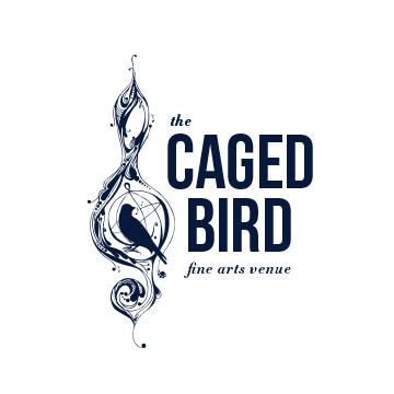 The Caged Bird Logo | Branding by Sugar & Gold