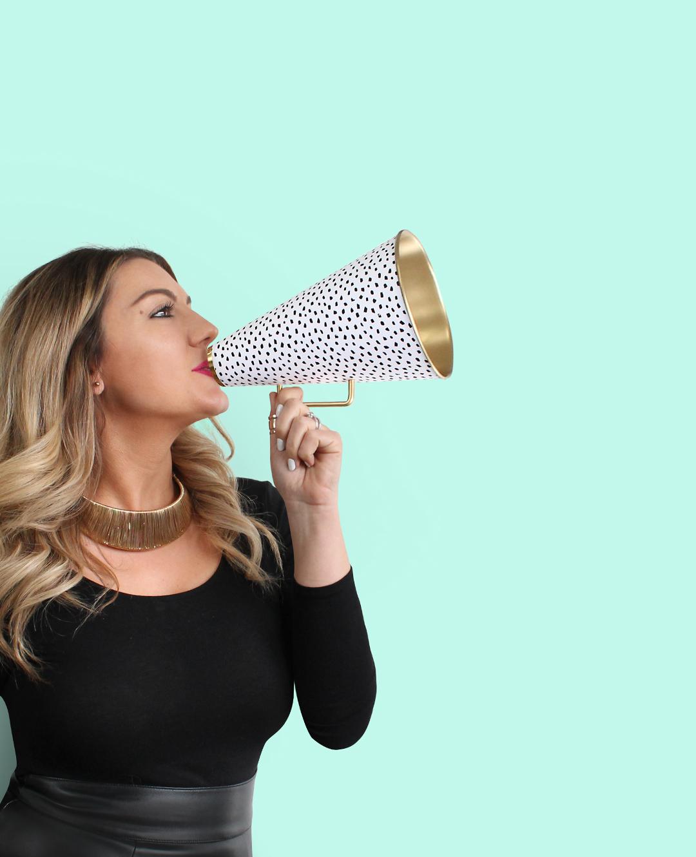 Sugar & Gold | Megaphone Confetti | Big News Coming Soon