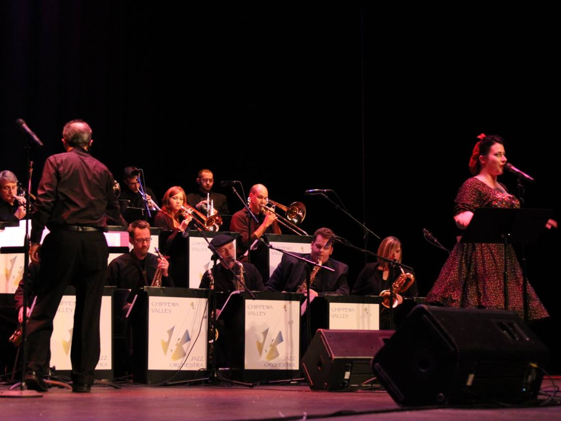 Chippewa Valley Jazz Orchestra  State Theatre, Eau Claire