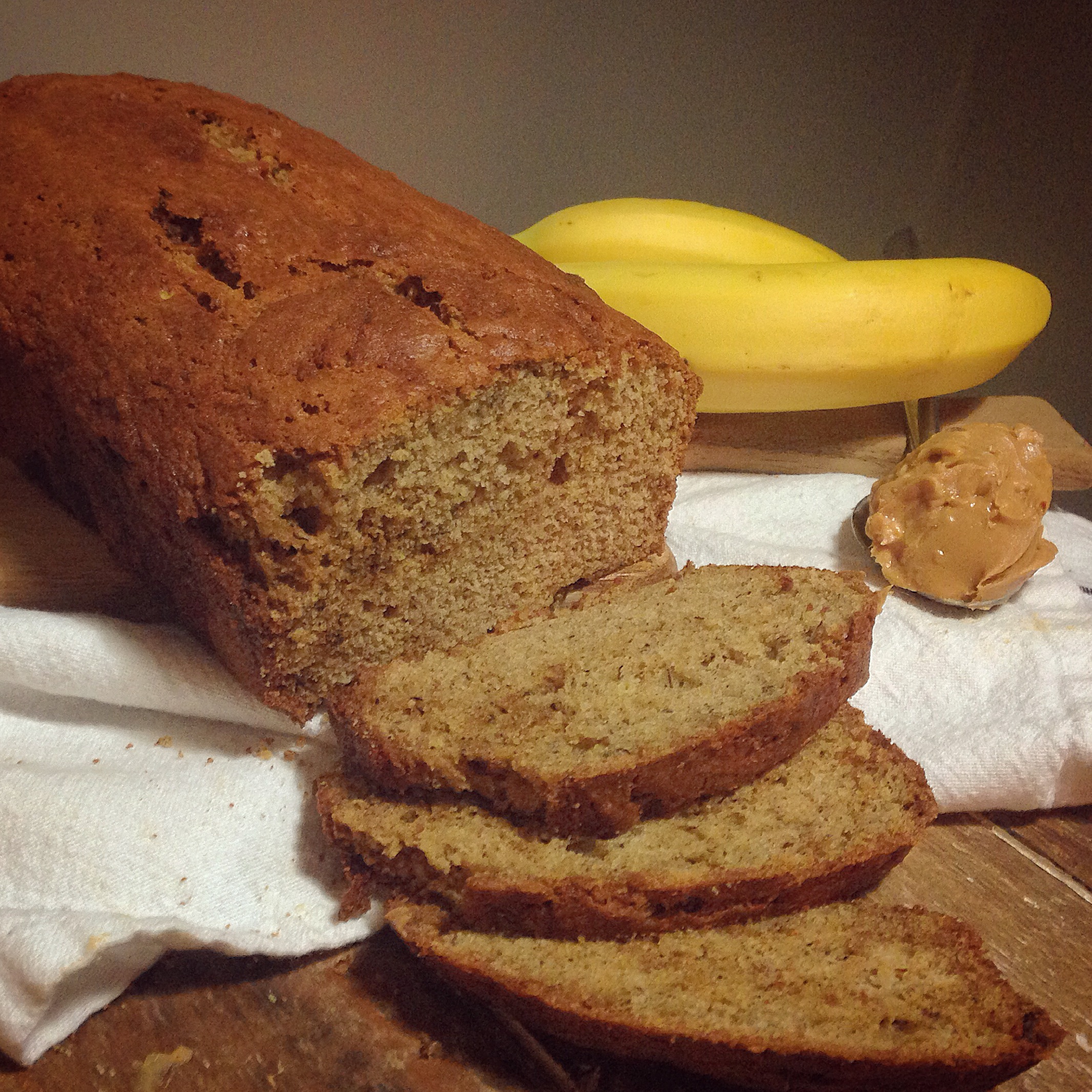 Hot and Fresh Banana Bread