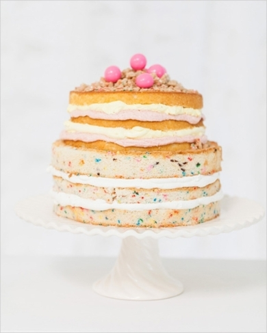 Confetti cake by CakeWalk Bake Shop