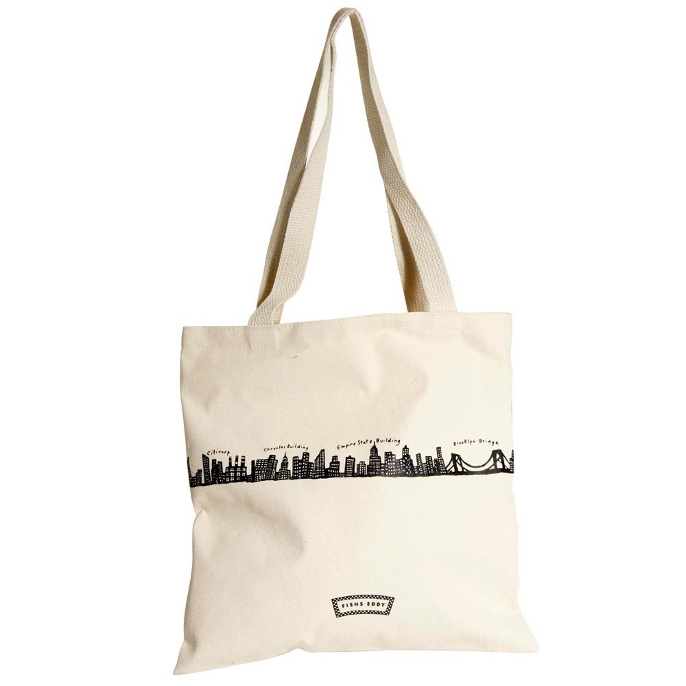 212 Canvas Tote Bag - Fish Eddys