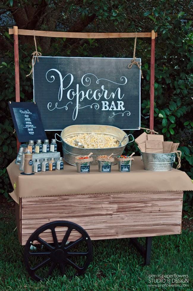 Popcorn Bar Courtesy of PNP Flowers Inc