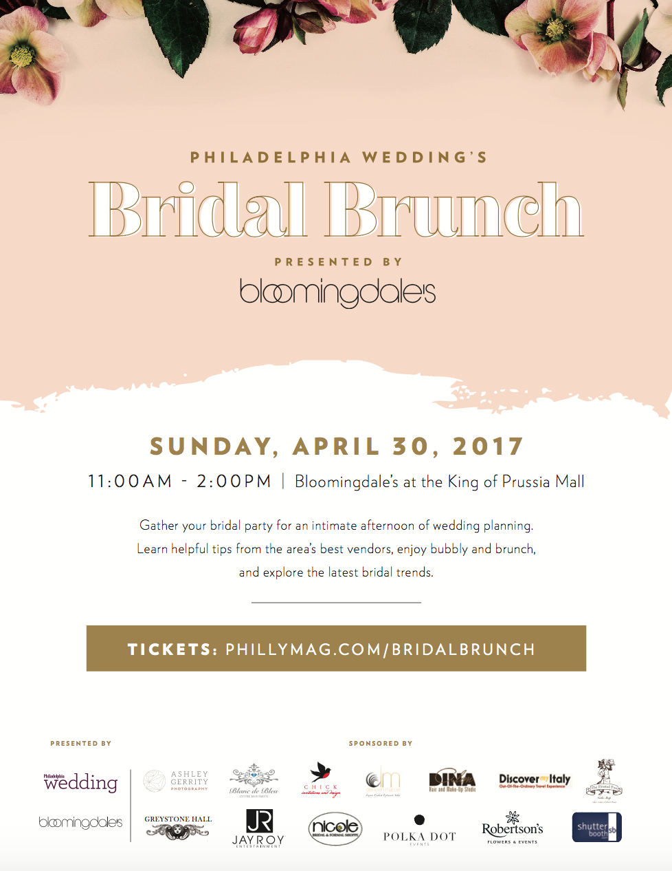 philly bridal brunch