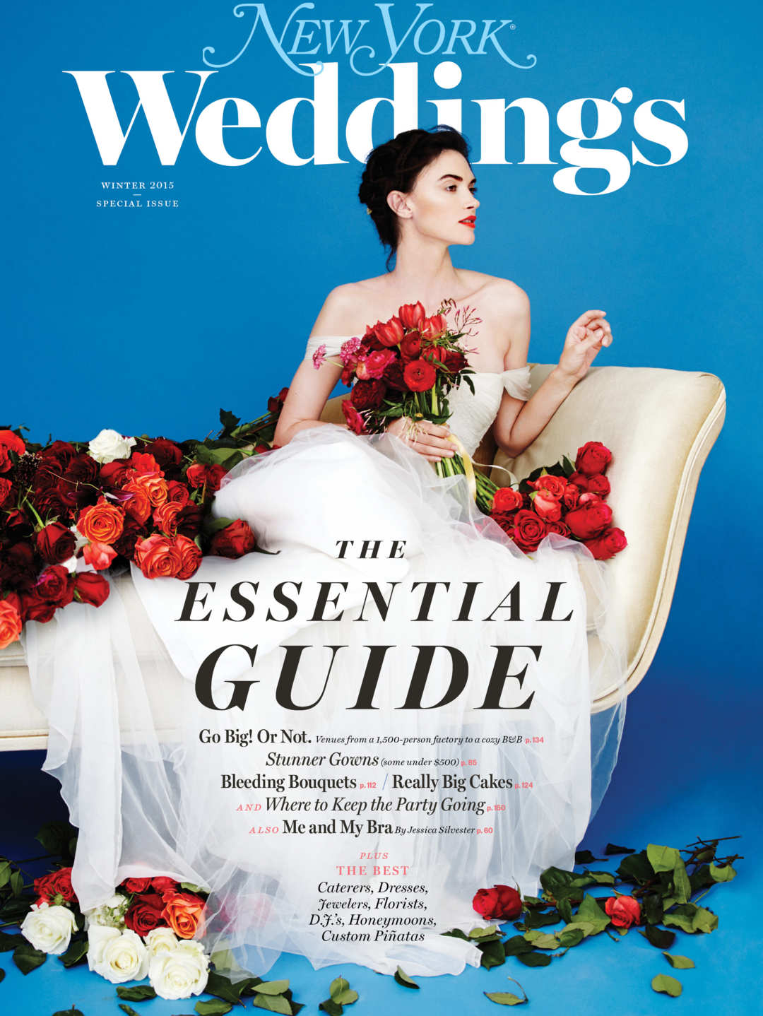 "NY Mag Weddings Winter 2015 ""Why You Should Consider a Day Wedding"""