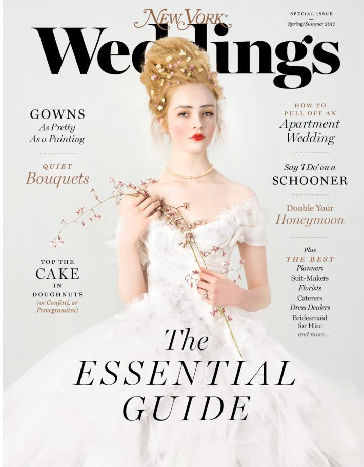 NY Mag Weddings Spring Summer 17