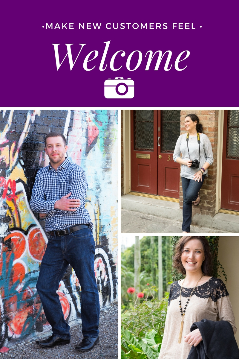 make new audience members feel welcome with images that give them a sense of belonging right away | Bountiful path: visual content strategies for digital entrepreneurs wanting to get noticed & build serious trust