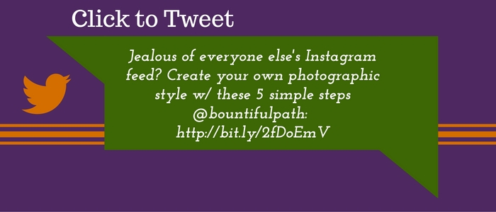 Make your brand instantly recognizable with your own photographic style. Learn how in 5 simple steps at bountiful path.