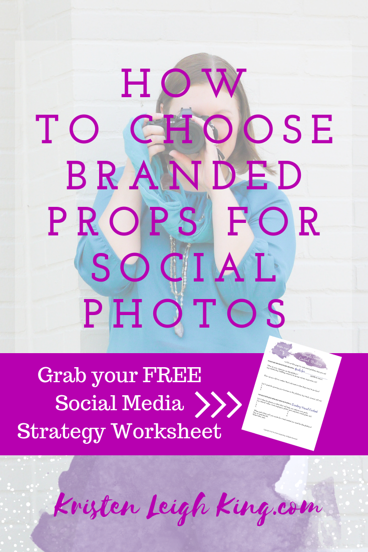 how to choose branded props for Instagram and social photos