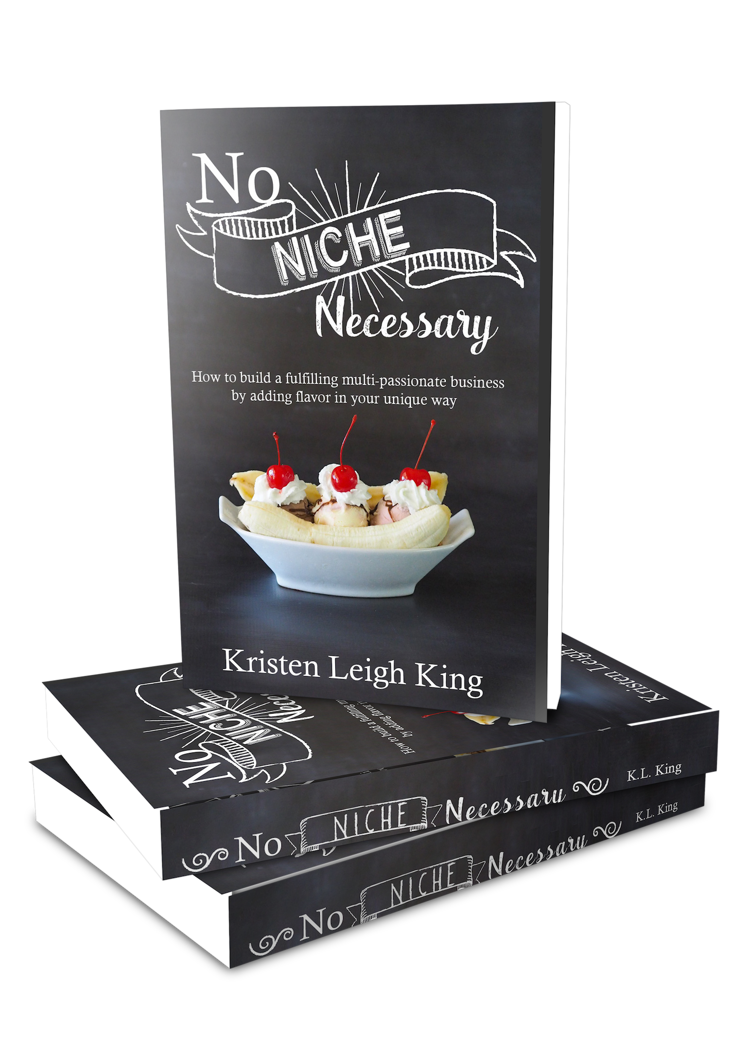No Niche Necessary book for how to build a fulfilling multi-passionate business