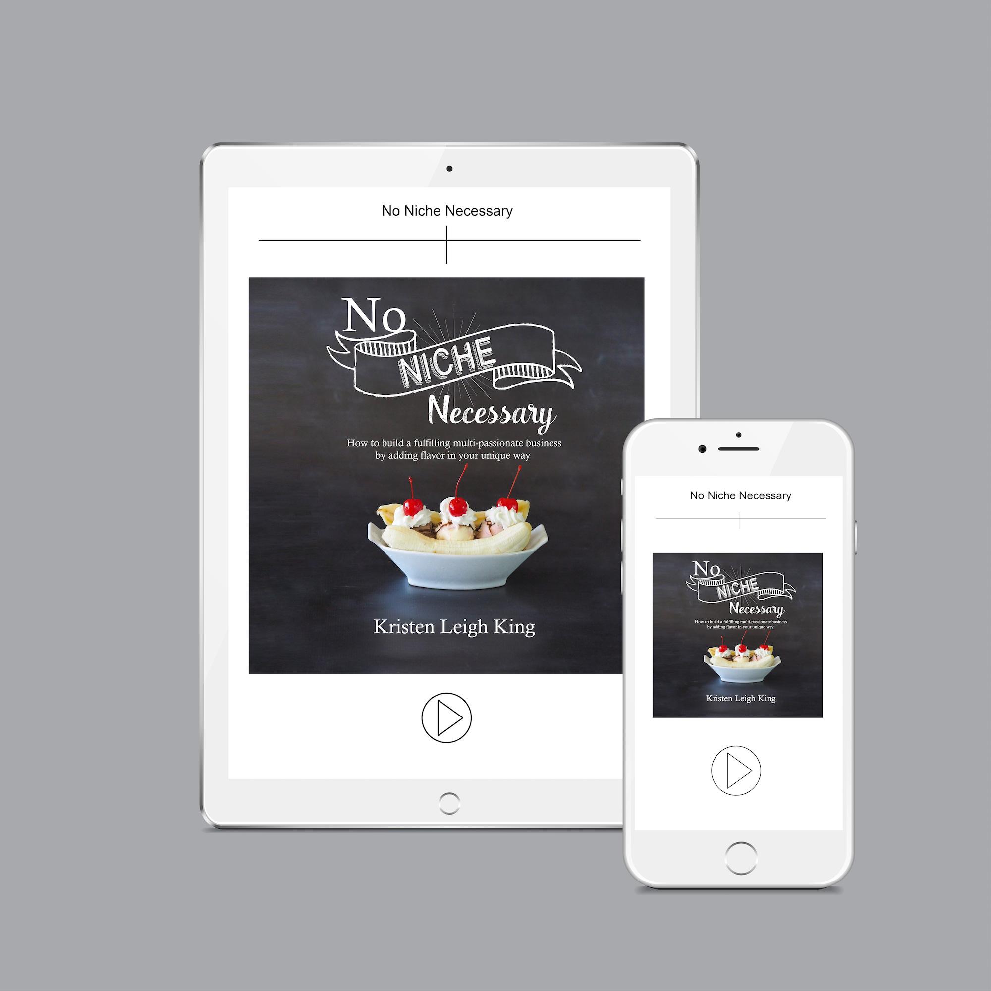 No Niche Necessary audiobook by Kristen Leigh King