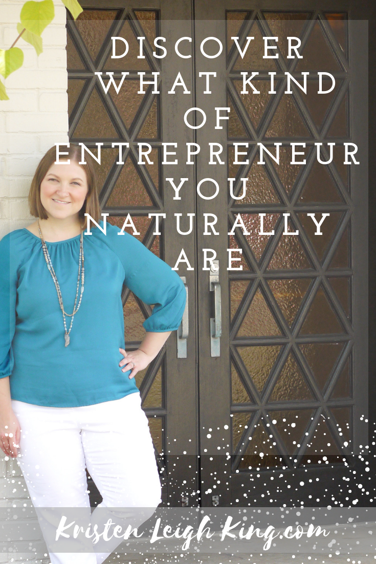 What kind of entrepreneur are you