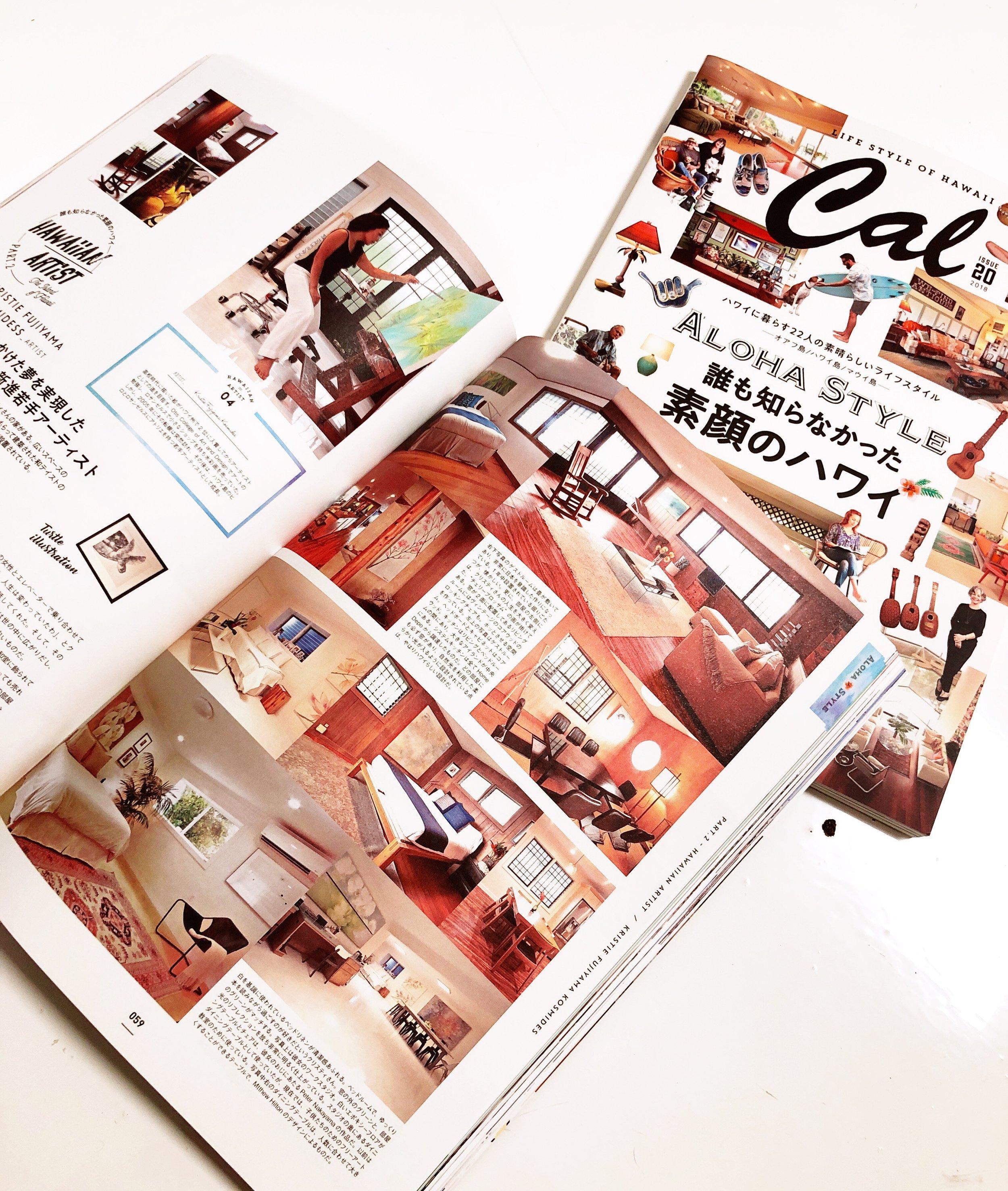 Cal Magazine Japan