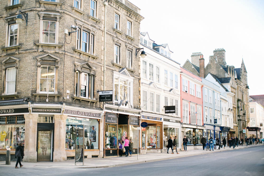 streets of oxford