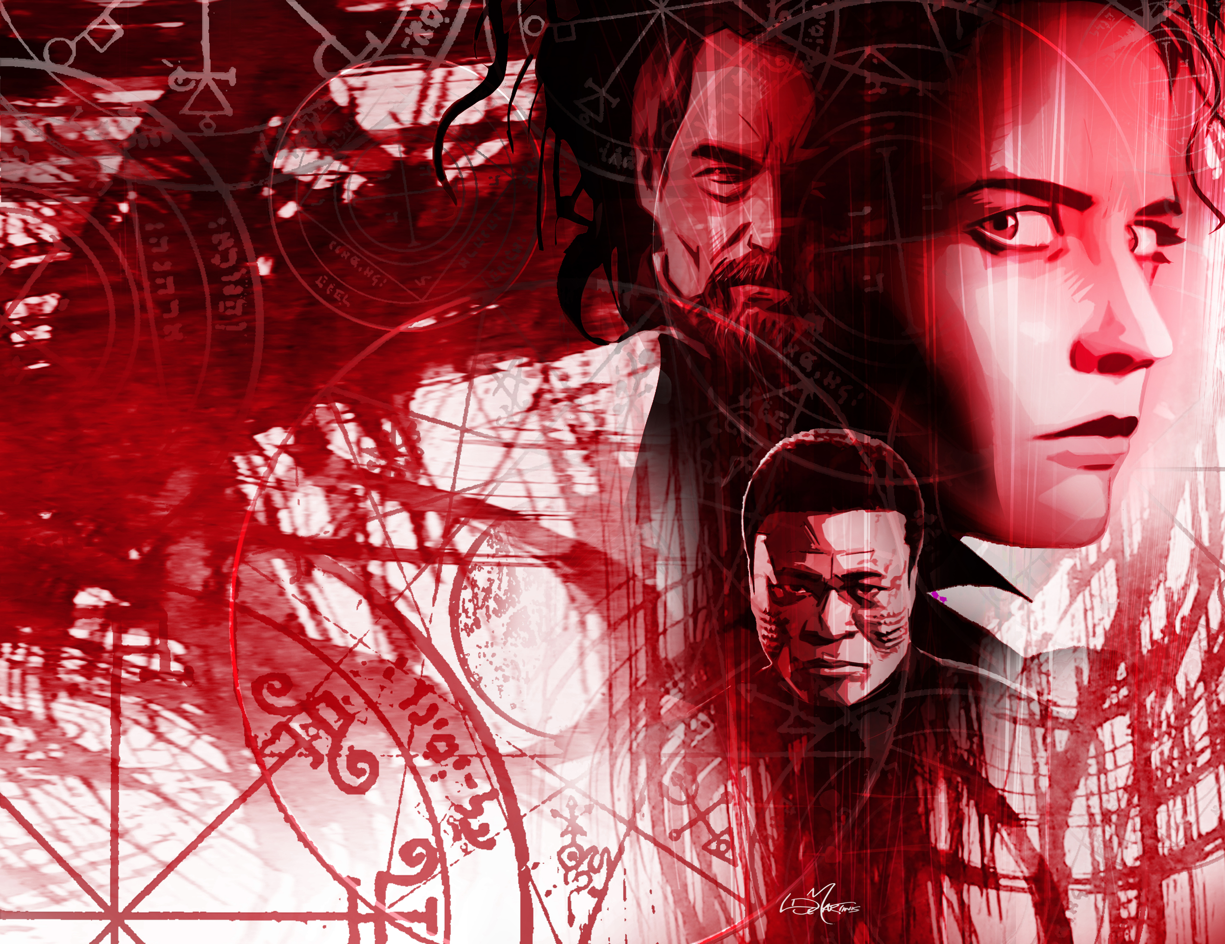 Penny Dreadful Issue #1 Variant Cover By Louie De Martinis