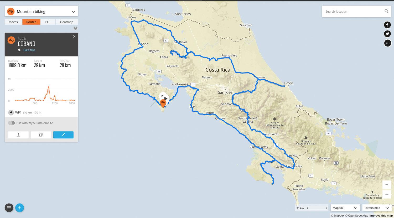 Around Costa Rica by Beach Cruiser