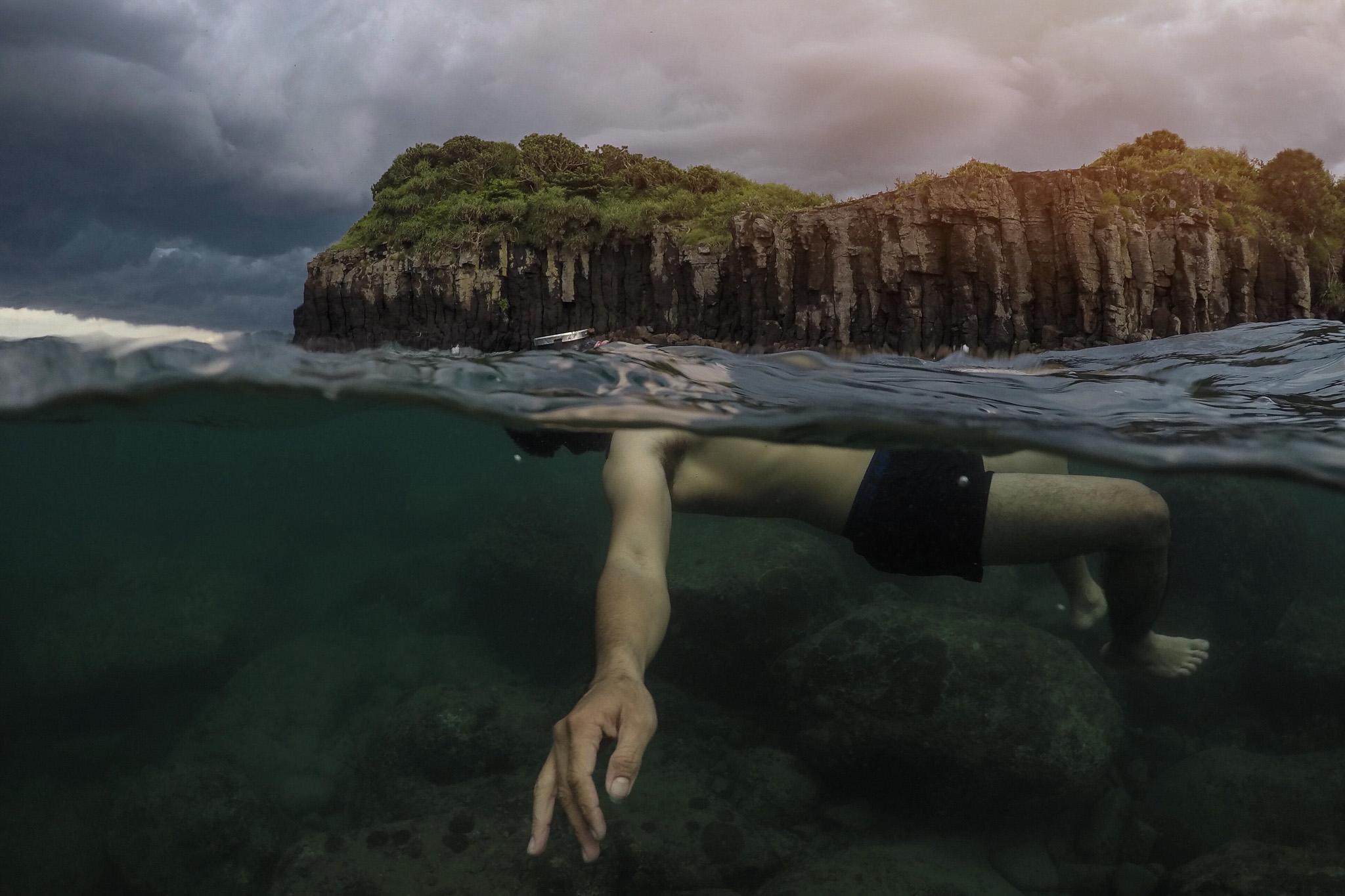 Over Under Water Photos