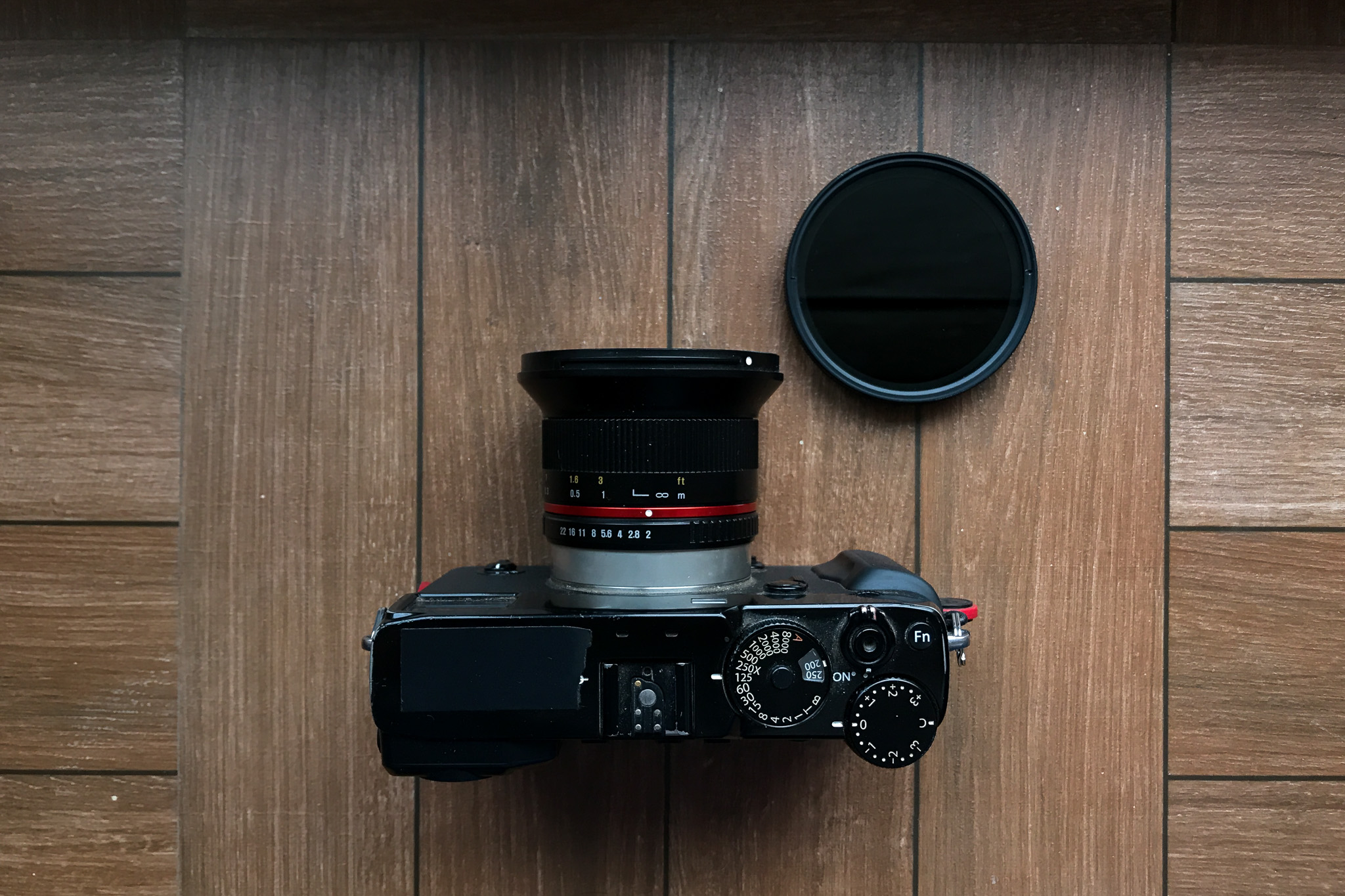 Fujifilm X-Pro 2, Rokinon 12mm F2 and a Variable ND filter