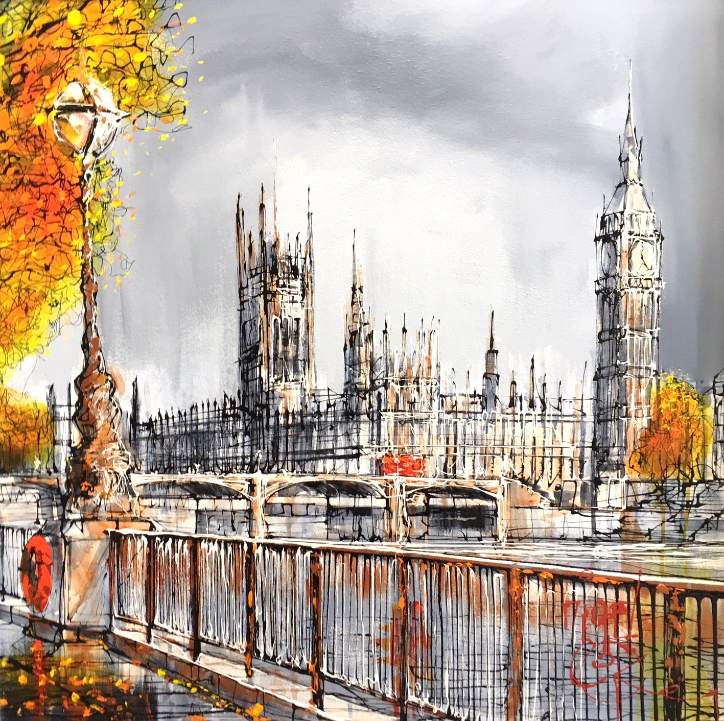view to westminster