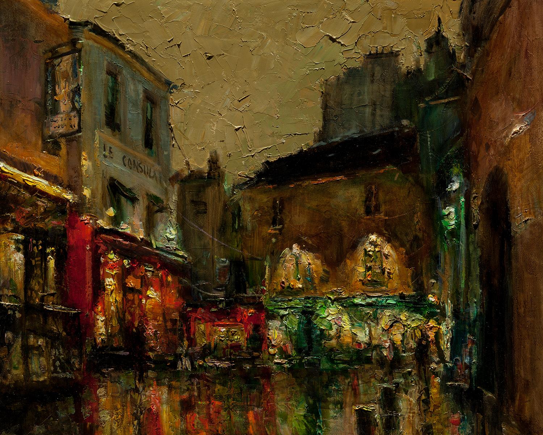 evening montmartre