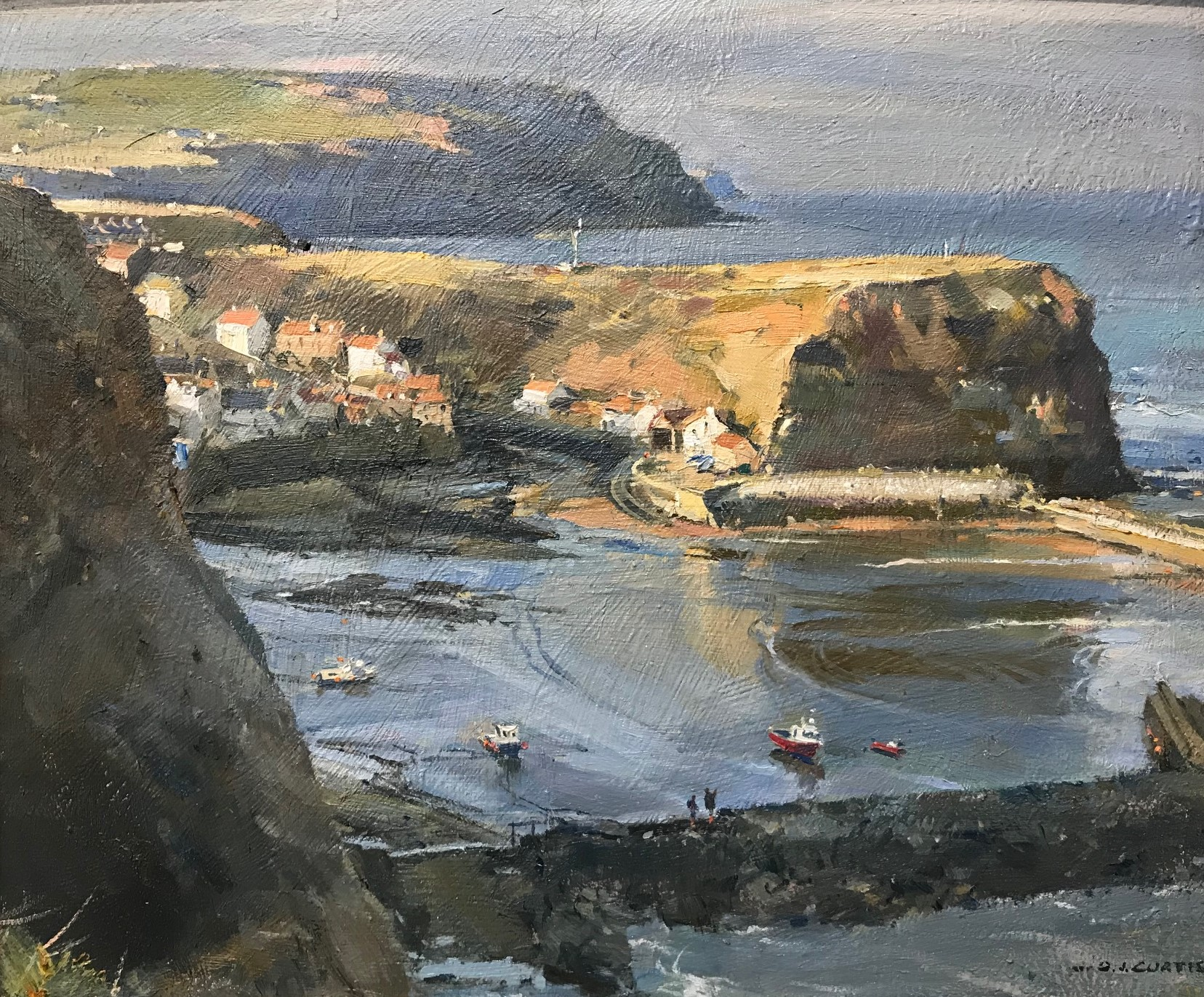 view to the nab, staithes
