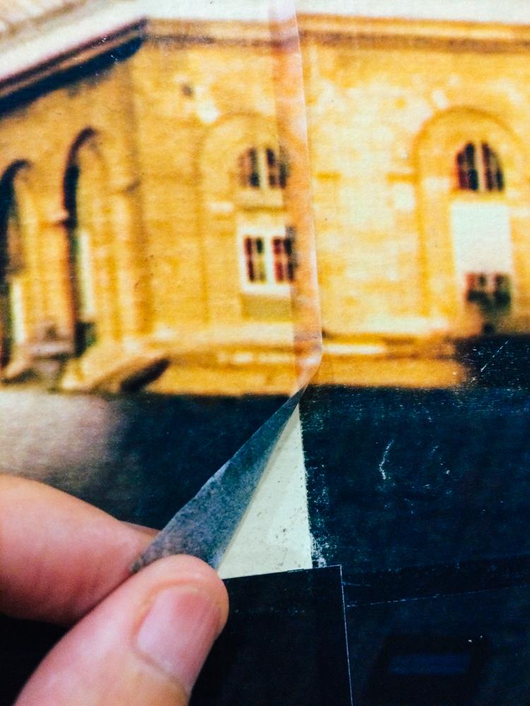 紙膠帶也能印出來。