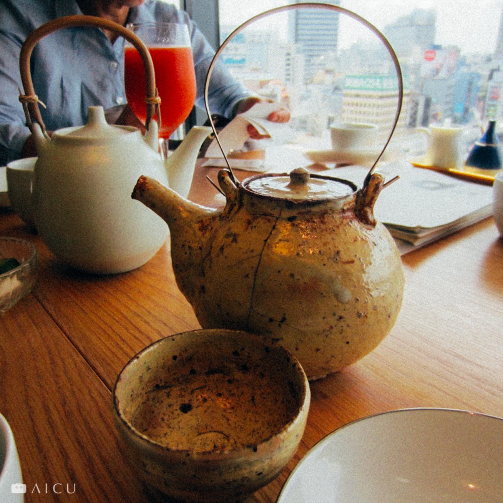 不同的茶壺,不同的美麗姿態。