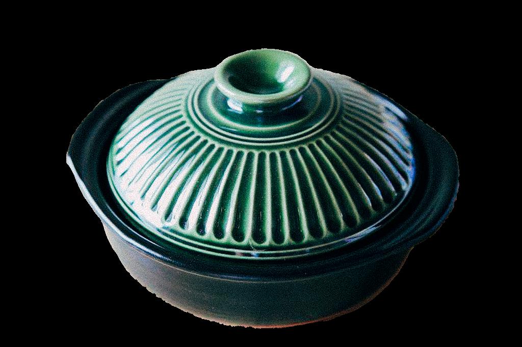 織部綠小土鍋 $980
