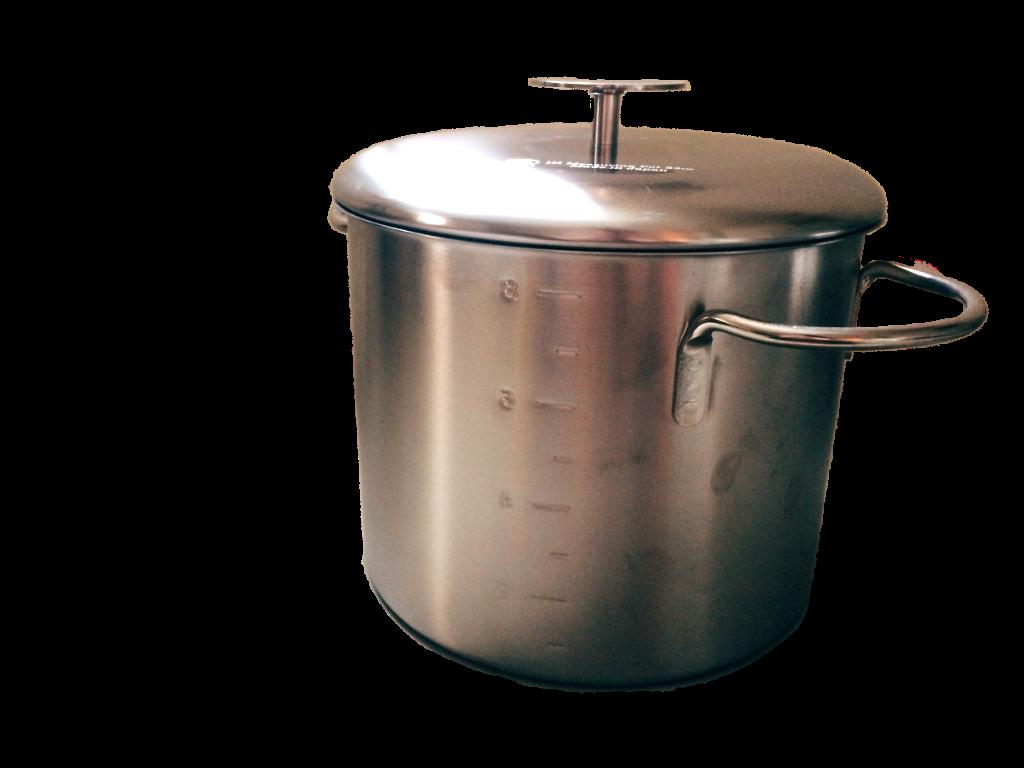 不鏽鋼深湯鍋(8.3L) 4,880