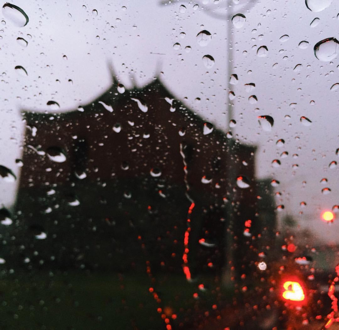 下雨又寒冷,大家記得注意保暖。