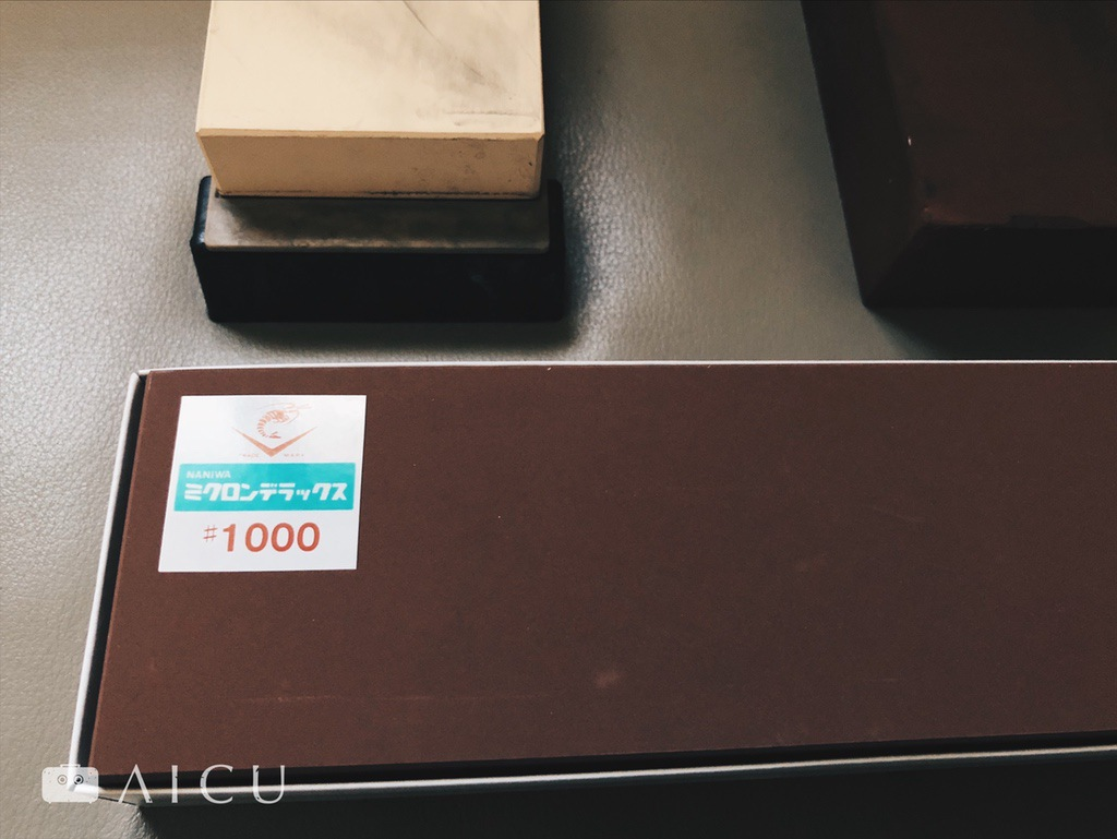 家庭用磨刀石 - 選擇系數1000的中砥即可